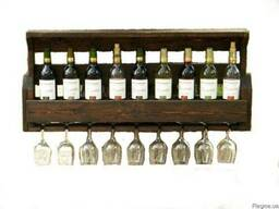 Полка для бутылок, винные стойки