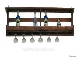 Полка для бутылок, винные стойки 600*500*150
