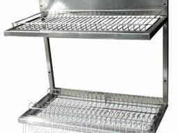 Полка-сущка для посуды из нержавеющей стали 600х325х510