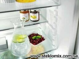Полки для холодильника из стекла