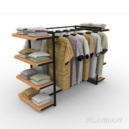 Полки для магазина одежды, торговые