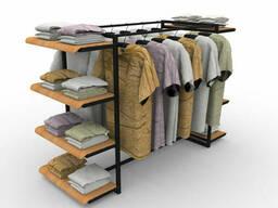 Полки для магазина одежды