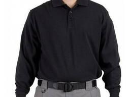 Поло тактическое с длинным рукавом 5. 11 Tactical Professional Polo черное