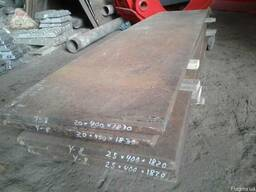 Полоса, лист У8 25 х 400 х 1820 мм
