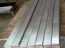 Полоса нержавеющая 20х6мм-80х10мм сталь AISI 304 (08Х18Н10)