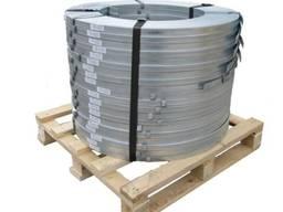 Штрипс стальной оцинкованный 0, 5х20, лента упаковочная, цена