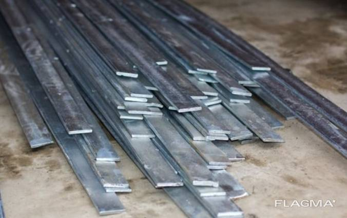 Полоса стальная оцинкованная 50х5