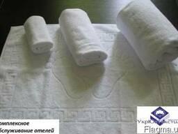 Полотенца белые для отелей и баз отдыха