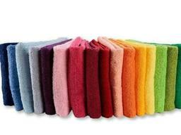 Полотенца цветные для отелей и баз отдыха