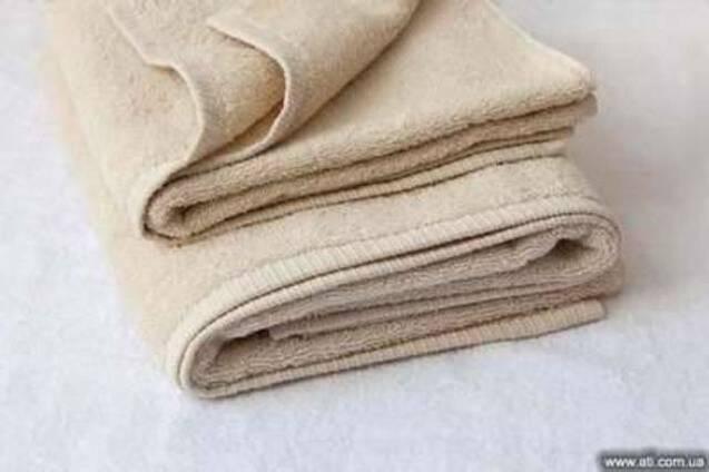 Полотенце махровое белое 70х140 пл.550 г./м2