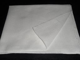 Полотенце вафельное белое размер 40х80