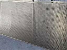 Полотно решетное, черное, 1000х2000 мм. , разные ячейки