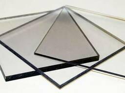Полу- или прозрачный монолитный поликарбонат(как оргстекло).