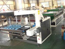 Полуавтоматическая машина для ламинирования гофрокартона