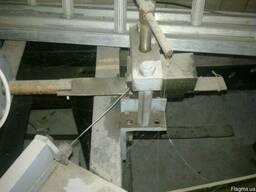 Полуавтоматический станок для вязания сетки рабицы