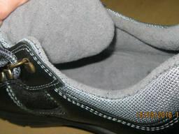 Полуботинки кожаные Степ с мет. носком