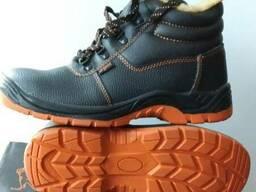 f364ea951 Ботинки рабочие кожаные с мет. носком зимние Польша