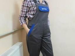Рабочий полукомбинезон, спецодежда, рабочая одежда