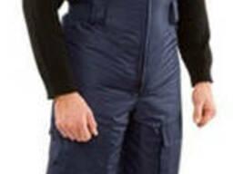 Полукомбинезон мужской утепленный зимний, рабочий ткань боло