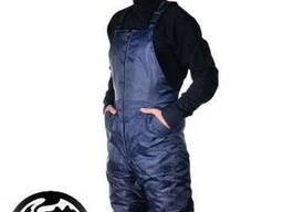 Полукомбинезон рабочий зимний, высокого качества, т. -синий