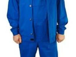 """Полукомбинезон с курткой """"Евро"""" удобный, рабочая одежда"""