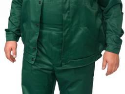 Полукомбинезон с курткой зеленый