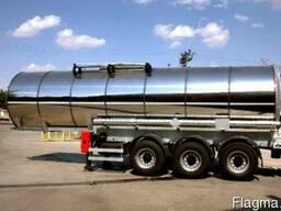 Полуприцеп для химических продуктов Nursan trailer