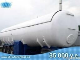 Полуприцеп газовоз 48 м3, емкость для пропана, бочка для СУГ