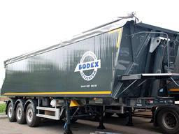 Полуприцеп самосвальный алюминиевый BODEX KIS 3WА1 35 м³