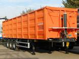 Полуприцеп самосвальный Bodex KIS 3WS 45-70 м³ зерновоз - фото 1