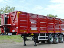 Полуприцеп самосвальный стальной BODEX KIS 3WS1 33-35 м³
