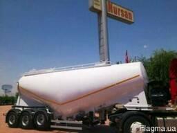 Полуприцеп зерновоз V-образного типа Nursan trailer