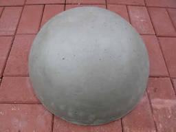 Полусфера бетонная