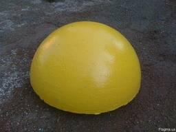 Полусфера бетонная 600х320 цветная (СБ-05)
