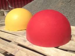 Полусфера бетонная 500х250 (цветная)