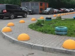 Полусфера бетонная (антипарковка) в Запорожье