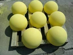 Полусфера 500х250 жовта отправка акция склад
