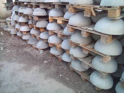 Полусфера /напівсфера 140 кг 600*320