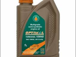 Полусинтетическое масло 10w40 турбодизель