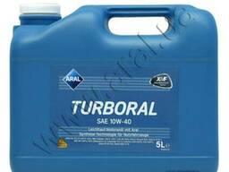 Полусинтетическое моторное масло Aral Turboral 10W-40,20л EU