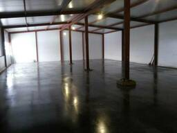 Полы бетонные промышленные