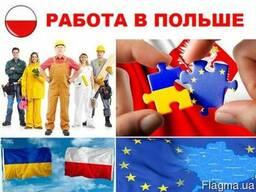 Помощь с оформлением визы и трудоустройством в Польше