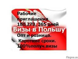 Помощь в оформлении рабочей визы в Польшу