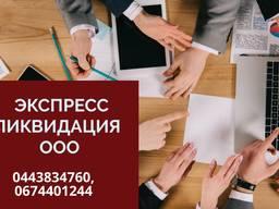 Помощь юриста при ликвидации ООО. Ликвидация ФЛП Днепр.
