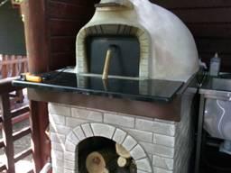 Помпейская дровяная печь для пиццы