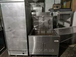 Пончиковый аппарат Belshaw 634 + Расстоечный шкаф б/у