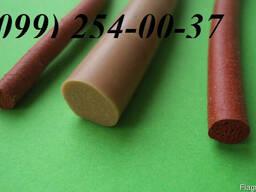 Шнуры пористые круглые(вспененный силикон)