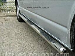 Пороги из труб для Volkswagen Transporter T5. ..