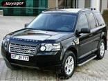 Пороги площадки для Land Rover Discovery III - фото 1