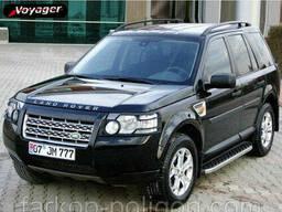Пороги площадки для Land Rover Discovery III